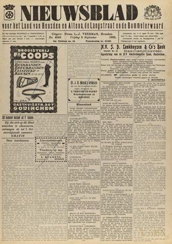 Nieuwsblad het land van Heusden en Altena de Langstraat en de Bommelerwaard 1929-09-06