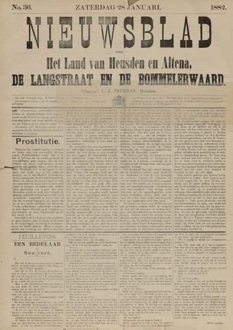 Nieuwsblad het land van Heusden en Altena de Langstraat en de Bommelerwaard 1882-01-28
