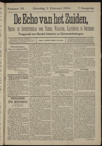 Echo van het Zuiden 1884-02-03