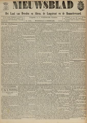 Nieuwsblad het land van Heusden en Altena de Langstraat en de Bommelerwaard 1893-02-08