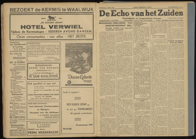 Echo van het Zuiden 1947-07-15