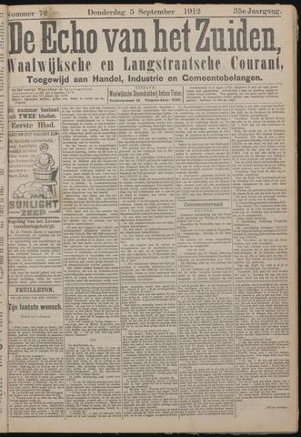 Echo van het Zuiden 1912-09-05