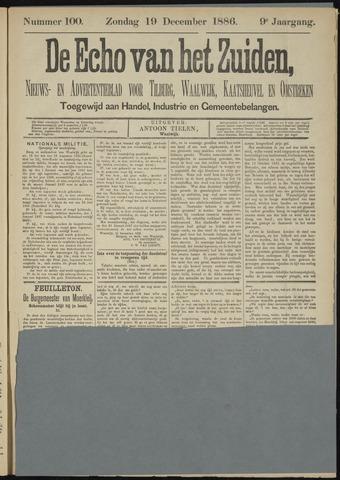 Echo van het Zuiden 1886-12-19