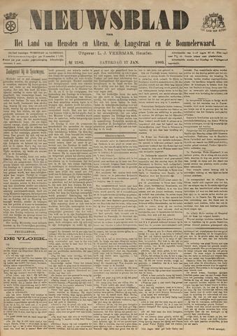 Nieuwsblad het land van Heusden en Altena de Langstraat en de Bommelerwaard 1903-01-17