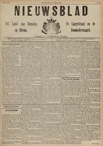 Nieuwsblad het land van Heusden en Altena de Langstraat en de Bommelerwaard 1892-03-02