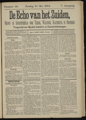 Echo van het Zuiden 1884-05-18