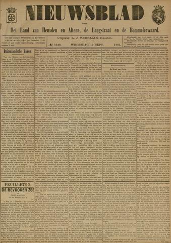 Nieuwsblad het land van Heusden en Altena de Langstraat en de Bommelerwaard 1894-09-12