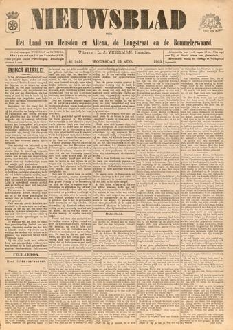 Nieuwsblad het land van Heusden en Altena de Langstraat en de Bommelerwaard 1905-08-23