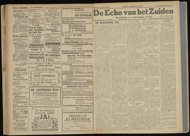 Echo van het Zuiden 1946-06-28