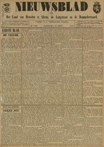 Nieuwsblad het land van Heusden en Altena de Langstraat en de Bommelerwaard 1894-09-22