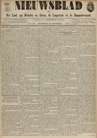 Nieuwsblad het land van Heusden en Altena de Langstraat en de Bommelerwaard 1892-12-14