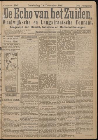 Echo van het Zuiden 1913-12-18