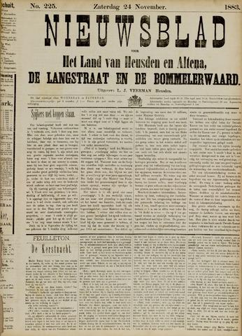 Nieuwsblad het land van Heusden en Altena de Langstraat en de Bommelerwaard 1883-11-24