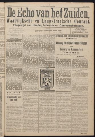 Echo van het Zuiden 1925-09-12