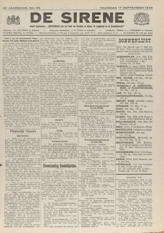 De Sirene 1945-09-17