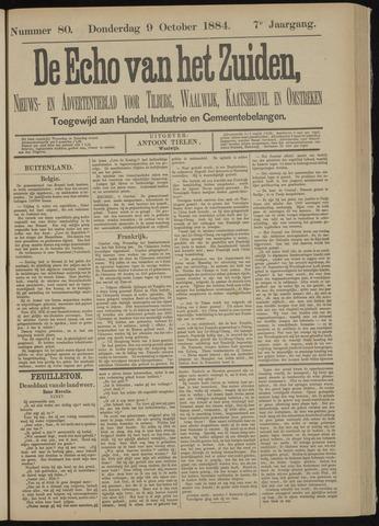 Echo van het Zuiden 1884-10-09