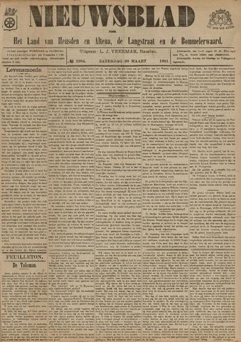 Nieuwsblad het land van Heusden en Altena de Langstraat en de Bommelerwaard 1901-03-30