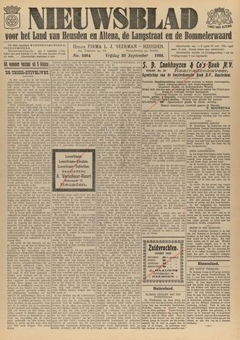 Nieuwsblad het land van Heusden en Altena de Langstraat en de Bommelerwaard 1932-09-23