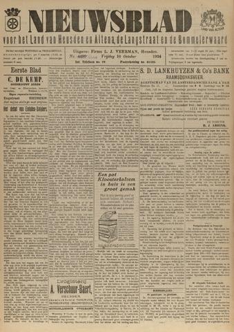 Nieuwsblad het land van Heusden en Altena de Langstraat en de Bommelerwaard 1924-10-10