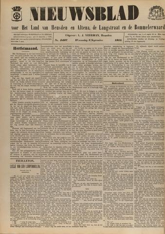 Nieuwsblad het land van Heusden en Altena de Langstraat en de Bommelerwaard 1915-09-08
