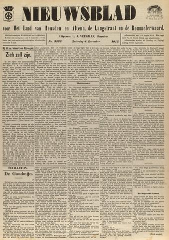Nieuwsblad het land van Heusden en Altena de Langstraat en de Bommelerwaard 1915-12-04
