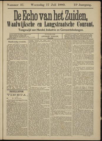 Echo van het Zuiden 1889-07-18