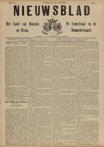 Nieuwsblad het land van Heusden en Altena de Langstraat en de Bommelerwaard 1888-10-20
