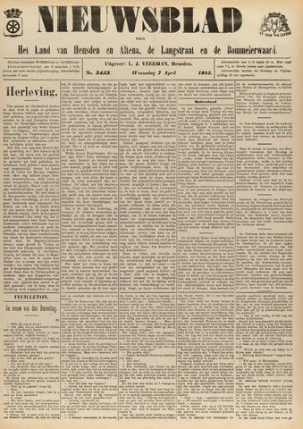 Nieuwsblad het land van Heusden en Altena de Langstraat en de Bommelerwaard 1915-04-07