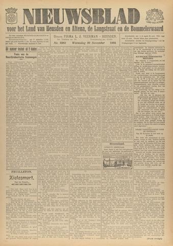 Nieuwsblad het land van Heusden en Altena de Langstraat en de Bommelerwaard 1932-11-30