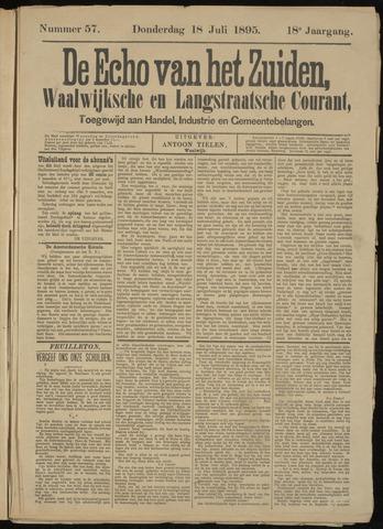 Echo van het Zuiden 1895-07-18