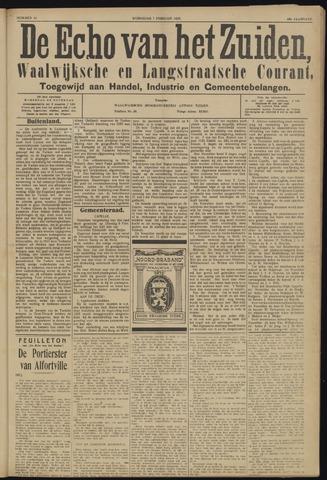 Echo van het Zuiden 1923-02-07
