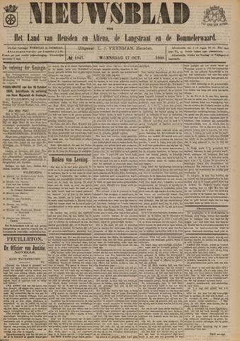 Nieuwsblad het land van Heusden en Altena de Langstraat en de Bommelerwaard 1900-10-17