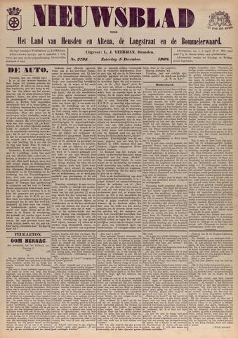 Nieuwsblad het land van Heusden en Altena de Langstraat en de Bommelerwaard 1908-12-05