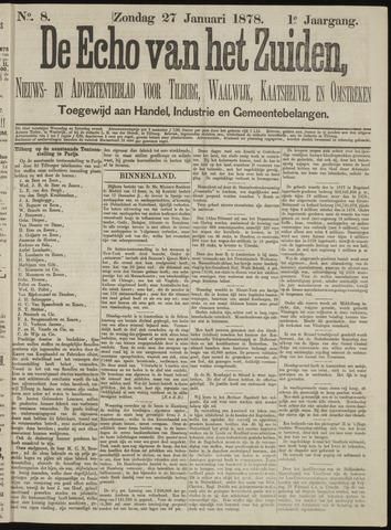 Echo van het Zuiden 1878-01-27