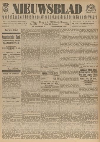 Nieuwsblad het land van Heusden en Altena de Langstraat en de Bommelerwaard 1924-02-22