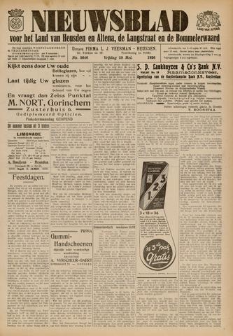 Nieuwsblad het land van Heusden en Altena de Langstraat en de Bommelerwaard 1936-05-29