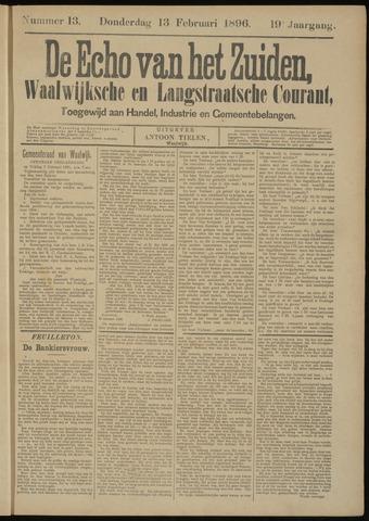 Echo van het Zuiden 1896-02-13