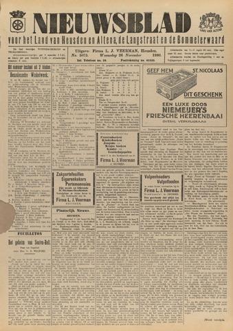Nieuwsblad het land van Heusden en Altena de Langstraat en de Bommelerwaard 1930-11-26