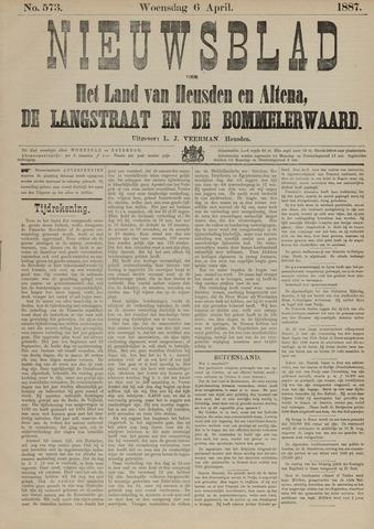 Nieuwsblad het land van Heusden en Altena de Langstraat en de Bommelerwaard 1887-04-06