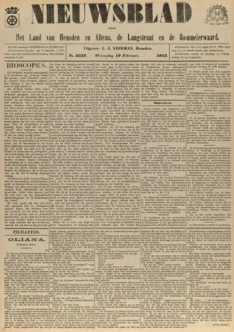 Nieuwsblad het land van Heusden en Altena de Langstraat en de Bommelerwaard 1913-02-19