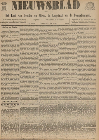 Nieuwsblad het land van Heusden en Altena de Langstraat en de Bommelerwaard 1897-06-12