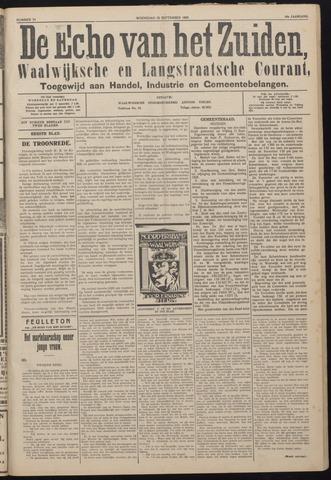 Echo van het Zuiden 1925-09-16