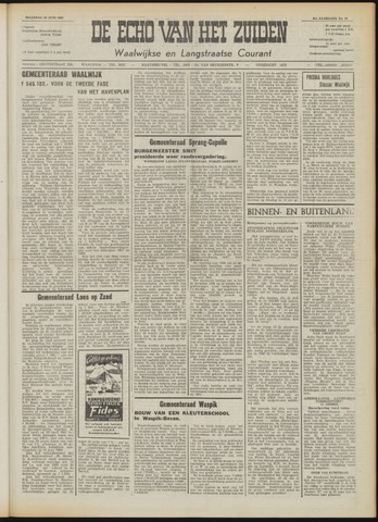 Echo van het Zuiden 1958-06-30
