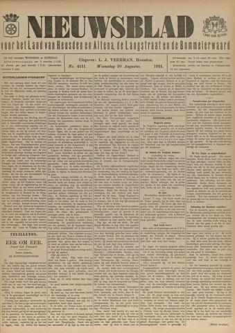 Nieuwsblad het land van Heusden en Altena de Langstraat en de Bommelerwaard 1921-08-10