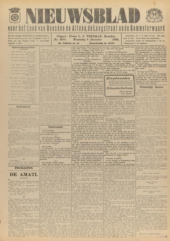 Nieuwsblad het land van Heusden en Altena de Langstraat en de Bommelerwaard 1928-12-05