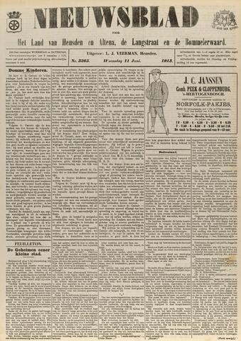 Nieuwsblad het land van Heusden en Altena de Langstraat en de Bommelerwaard 1913-06-11