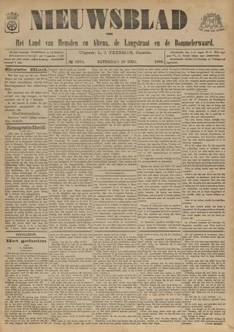 Nieuwsblad het land van Heusden en Altena de Langstraat en de Bommelerwaard 1903-12-19
