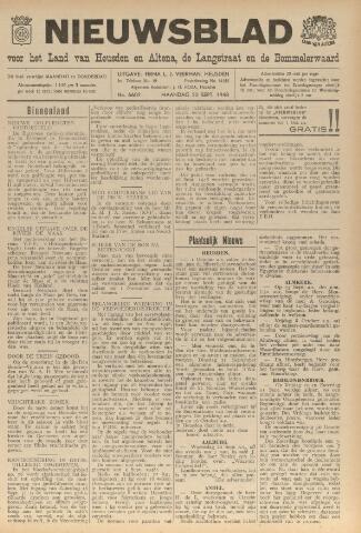 Nieuwsblad het land van Heusden en Altena de Langstraat en de Bommelerwaard 1948-09-20