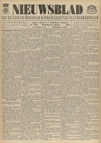 Nieuwsblad het land van Heusden en Altena de Langstraat en de Bommelerwaard 1925-08-26