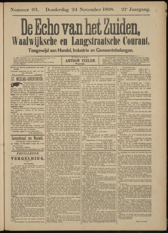 Echo van het Zuiden 1898-11-24